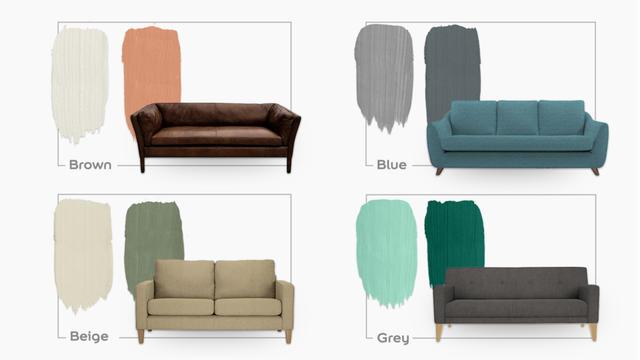 8 Paint Colours To Match Your Sofa Dulux