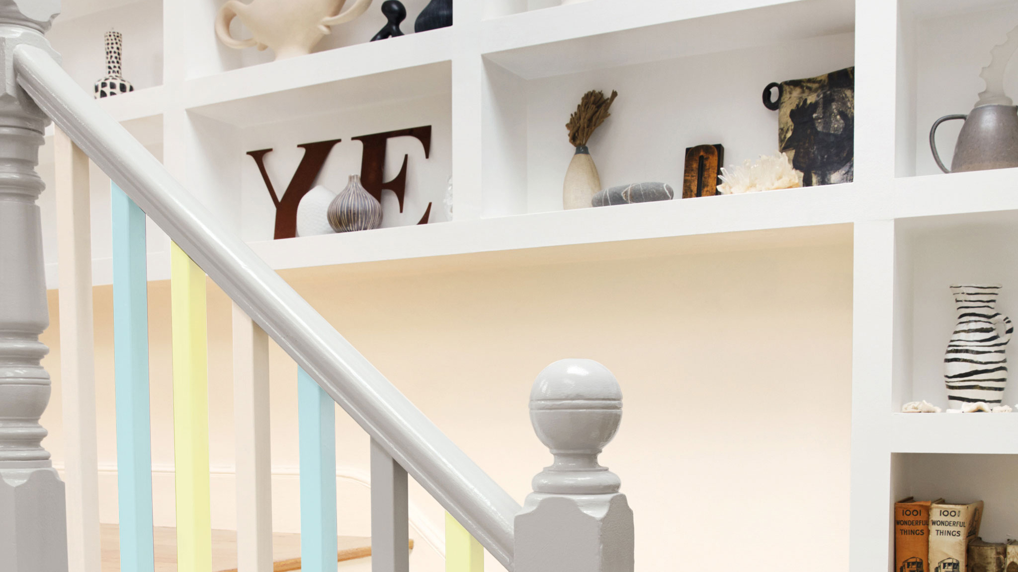 Using Dulux Paint On Stairs Bannisters